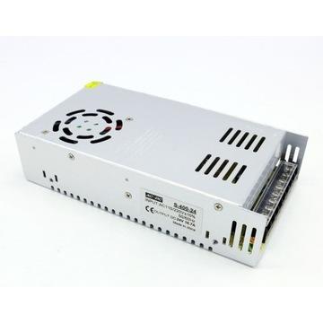 Zasilacz modułowy LED CNC 3D CCTV 24V 16,7A 400W