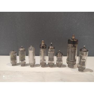 Stare lampy elektronowe plus schemat