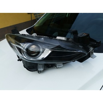 Mazda 3 iii BM Led prawa stan bdb lift 2016+