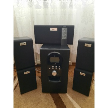 Głośniki GENIUS 5.1 SW-HF5.1 6000
