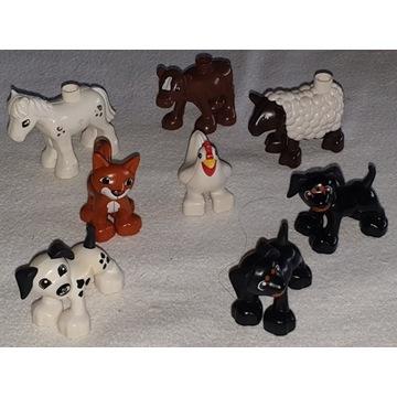 Lego Duplo zwierzęta domowe figurka figurki 8 szt.