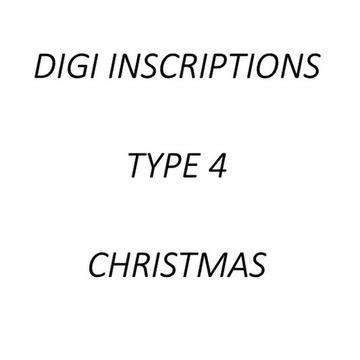 Digi napisy po angielsku - TYPE 4 - XMASS
