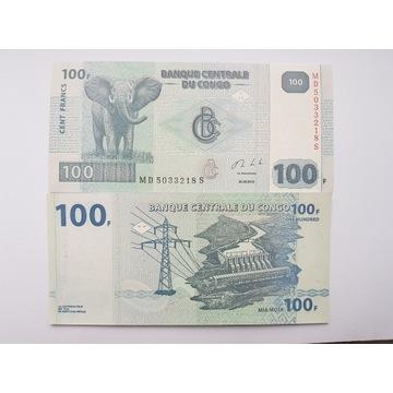 Kongo 100 Franków 2013 P-98b UNC