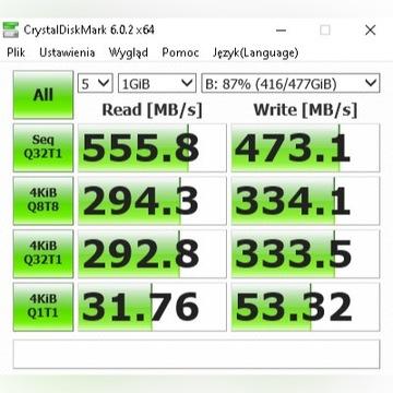 Dysk SSD 512GB Sata 3