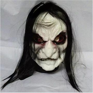 Straszna maska halloween