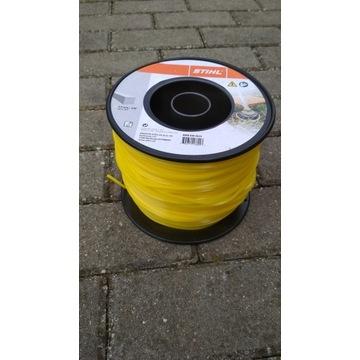 Żyłka Tnąca do Kosy Stihl żółta kwadratowa 3.0mm