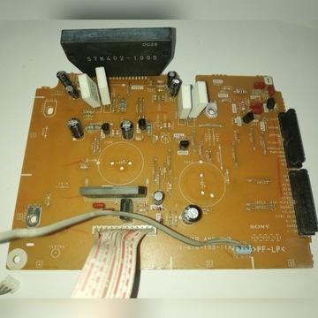 Płytka końcówka mocy STK 402-100S SONY