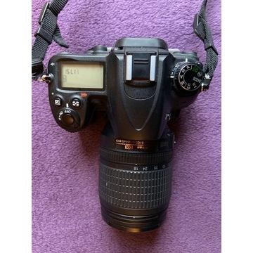 Aparat Lustrzanka Nikon D7000 plus obiektyw 18 105