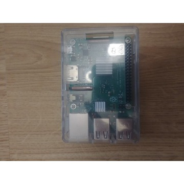 Zestaw Raspberry Pi3 B+, obudowa, zasilacz 3.1A