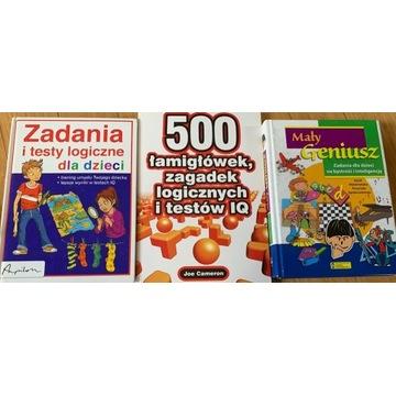 Książki - łamigłówki dla dzieci