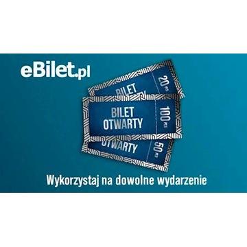 Kod voucher bon eBilet eBilet.pl 200zł + gratis