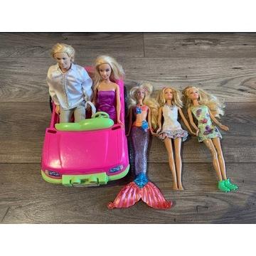 Zestaw lalek Barbie, Winx, Monster High i dodatki