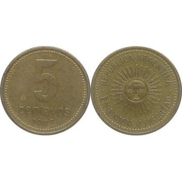 Argentyna 5 centavos 1992, KM#109
