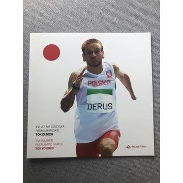 Folder-Paraolimpiada w Tokio 2020