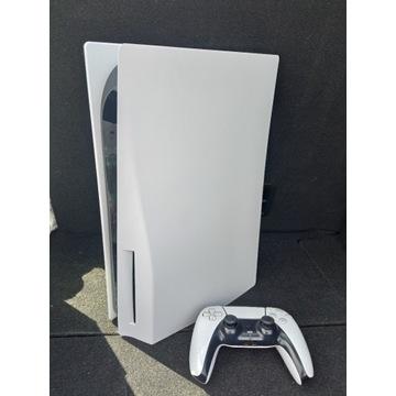 Konsola PS5 PlayStation. Wersja z napędem