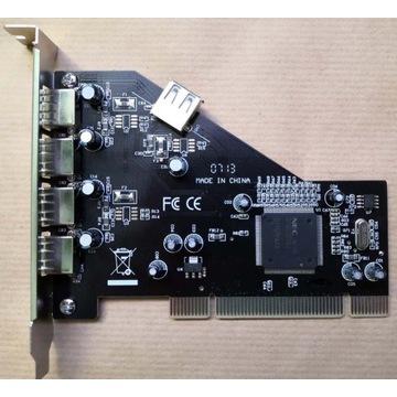 Kontroler PCI Nec USB 2.0 4+1P