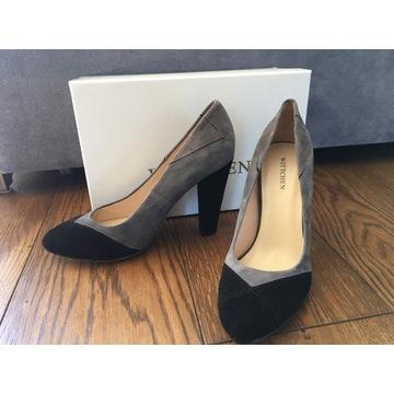 Nowe skórzane buty damskie Wittchen rozm. 39