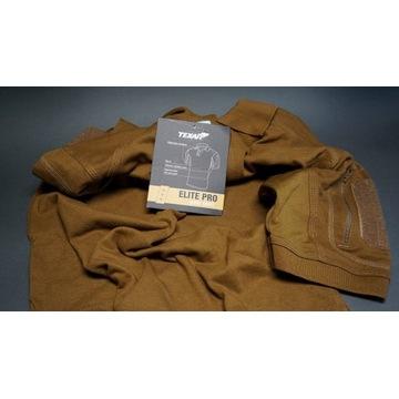 Koszulka polo Texar Elite Pro Coyote - rozmiar L