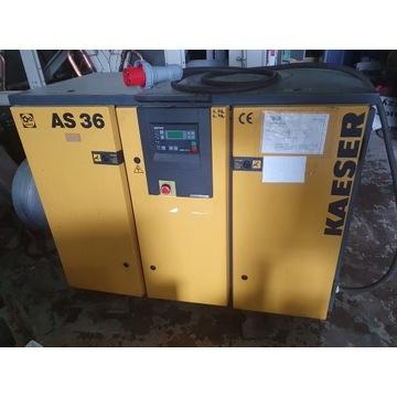 Sprężarka śrubowa kpmpresor  KAESER AS 36