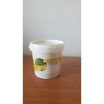 Miód Pszczeli  Lipowy ze Spadzią  wiaderka 1.5 kg