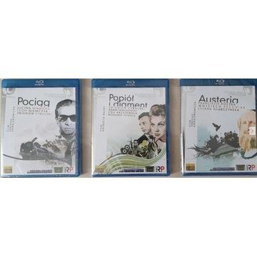 Pociąg + Popiół i diament + Austeria [3 x Blu-Ray]