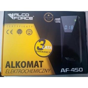 Alkomat elektrochemiczny AlcoForce AF450