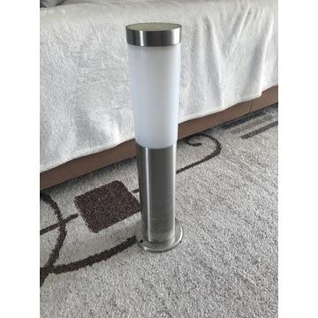 Lampa stojąca zewnętrzna słupek 45 cm