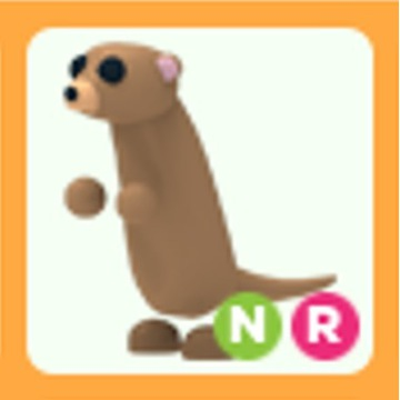 Roblox Adopt Me Meerkat NR neon