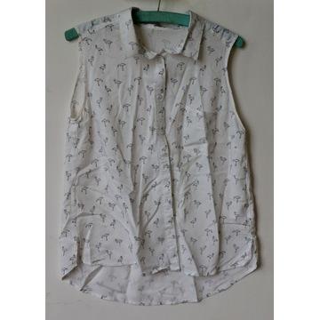 Koszula w Flamingi Bez Rękawów Rozmiar XL