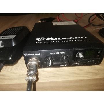 Cb radio Midland Alan 100 + antena