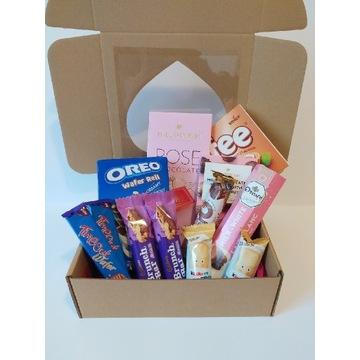 Różowy zestaw słodyczy Oreo Kinder Cadbury