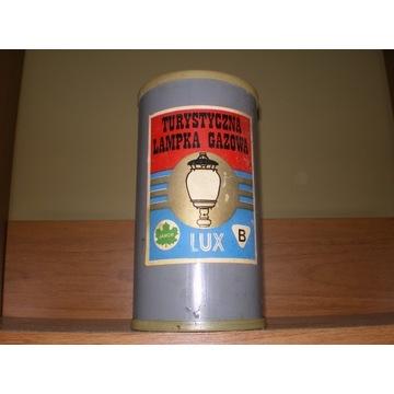 Turystyczna gazowa lampa oświetleniowa LUX Jawor.