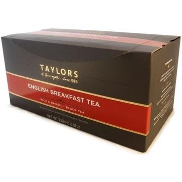 Taylors English Breakfast Herbata 100 kopertek