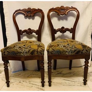 Krzesła biedermeier