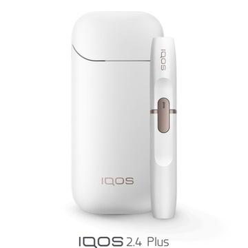 Iqos 2.4 plus biały, nowy folia