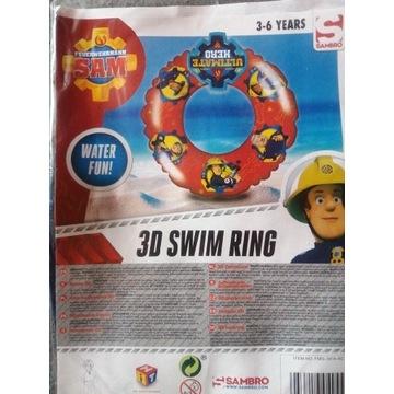Koło do pływania 3D