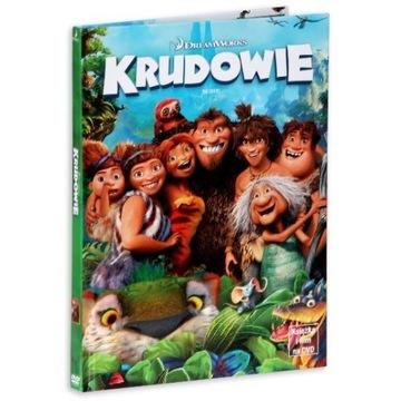 Animacja dla dzieci KRUDOWIE bajka DVD z książką