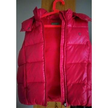 Benetton bezrękawnik różowy xl 9-10 lat