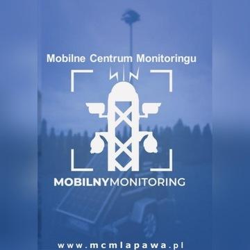 Kamery, Panel fotowoltaiczny, monitoring mobilny