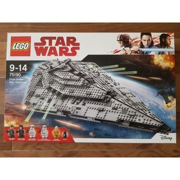 LEGO 75190 Star Wars - Niszczyciel Gwiezdny NOWY!