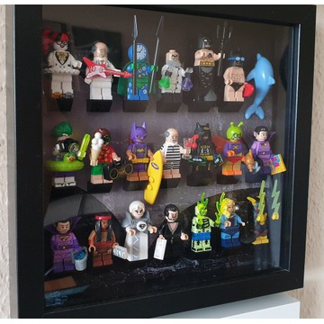 LEGO MINIFIGURES seria Batman2 71020 KOMPLET+ramka