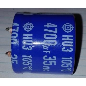Kondensator elektrolityczny 4700uF 35V