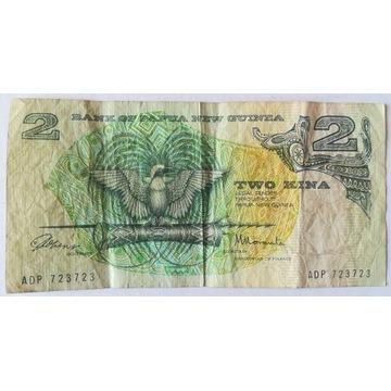 2 kina banknot Papua Nowa Gwinea