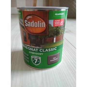 Impregnat Classic Sadolin Ciemny Szary 0,75L