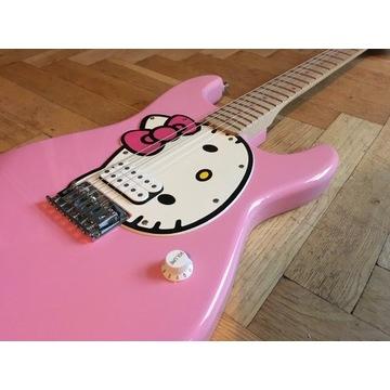 Squier Hello Kitty Stratocaster