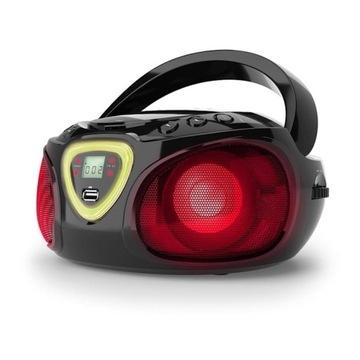 Bluetooth gra kolorów LED Roadie boombox radio FM