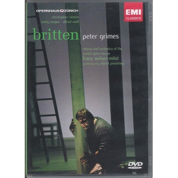2 DVD BRITTEN Peter Grimes VENTRIS, WELSER-MOST