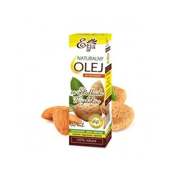 Naturalny olej ze słodkich migdałów 50 ml BIO Etja