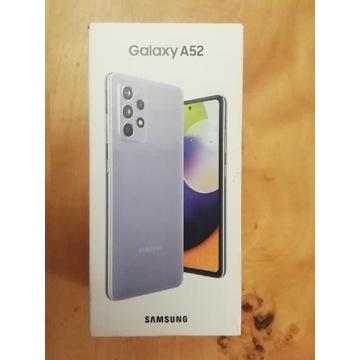 Samsung galaxy A52 NOWY kolor Violet