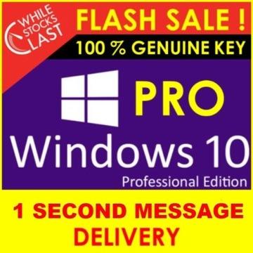 Windows 10 Pro - License Key - 32/64 - klucz key